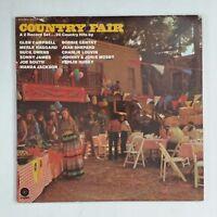 COUNTRY FAIR 20 Country Hits SWBB562 IAM Dbl LP Vinyl VG++ Cover VG+ near ++ GF