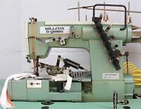 W&G 43-02X364 Cover Stitch 3-Needle 5-Thread Binder Industrial Sewing Machine