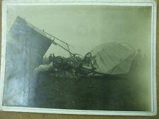 rare photo aviation semaine aviation lyonnaise accident de metro biblano voisin