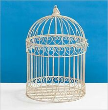 Decorative Cream Bird Cage Centerpiece-Dress, Wedding-Cards
