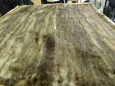 """New Refurbished Knitted Long Haired Beaver Fur Blanket Throw 60"""" By 80"""""""