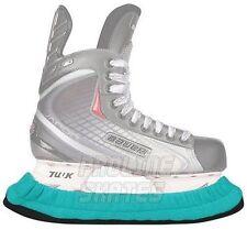 Patins de patinage sur glace et de hockey bleus