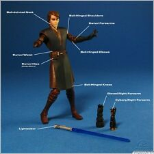 STAR Wars BRACCIO MECCANICO Anakin Skywalker CW45 Clone Wars Loose UK Gratis P + P