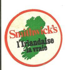 Bierviltje sous-bock Bierdeckel &16437 Smithwick's