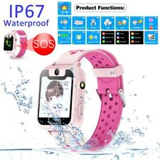 Waterproof Anti-lost Tracker Smart Watch GPS LBS SOS Call Wristwatch for Child