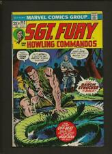 Sgt. Fury And His Howling Commandos 112 VF 8.0 High Definition Scans