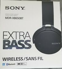 Sony Extra Bass Wireless Bluetooth Over-Ear Headphone (Mdrxb650Bt) Black
