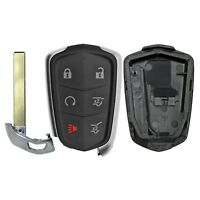 Smart Prox Replacement Remote Key Case Shell 2015-2019 Cadillac Escalade