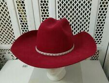 Vintage Bailey Men'S Western Hat Fur Blend Size 7 1/8