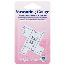 Hemline Sewing Measuring Gauge Set Imperial Inches Quilting