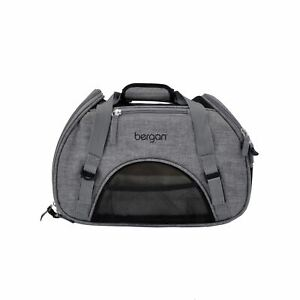 "Bergan Pet Comfort Carrier Small Grey 16"" x 8"" x 11"""