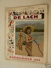 DE LACH 1955 SUMMER ISSUE,BRIGITTE BARDOT,SNOWDEN,ROSE,VITALE,GEORGE,TERRI,TAYLO