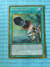 Utopia Buster PGLD-EN009 Gold Secret Rare Yu-Gi-Oh Card 1st Edition New