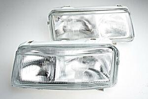 Headlight Front Lamps LEFT+RIGHT Fits VW Passat B4 1993-1996