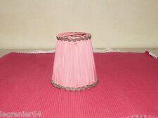 Abat jour tissu applique, lustre, lampe électrique 92 mm à clip N°032