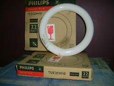 2 tubes fluorescent circulaire PHILIPS TL E 22W/10. Spécial 'TL'E insectes