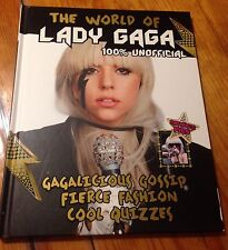 BRAND NEW! The World of Lady Gaga  HARDCOVER, Lady gaga book- Must Have Fan Book