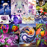 5D DIY Peacock Dolphin Diamond Painting Embroidery Cross Stitch Hanging Crafts