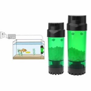 Aquarium Fluidized Moving Bed Sucker Sponge Filter Bubble Bio Media Fish Tank