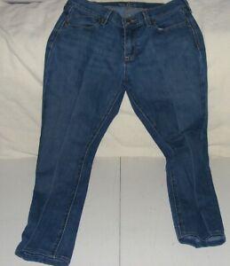 "Women's Denim Blue Jeans Pants by ""The Flirt"" Size 6"