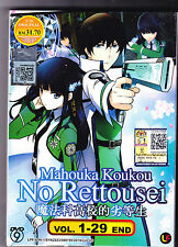 *NEW* THE IRREGULAR AT MAGIC HIGH SCHOOL *29 EPS*ANIME DVD*ENG SUBS*FREE SHIP*