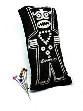 More details for voodoo doll genuine poppet tahiti earth pins black vodoun magic dark arts spirit
