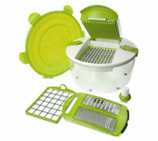Genius Salad Chopper 6-Piece Food Preparation System SC09-GR - Green