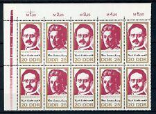 GDR No. 1050-1051 ** together Pressure Unit Upper Left!!! (102261)