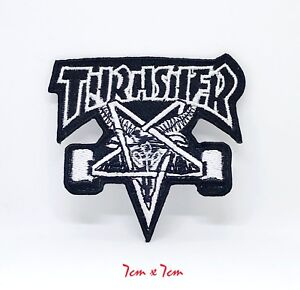 New Thrasher badge logo Iron Sew on Embroidered Patch #111