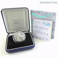 1993 LANDCARE Silver Proof Coin