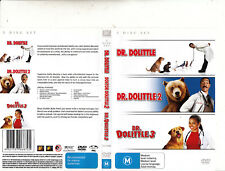 Dr Dolittle-1998/Dr Dolittle 2-2001/Dr Dolittle 3-2007-Eddie Murphy-Movie-3 DVD