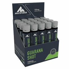 Multipower Guarana Shot 20x 25ml - Ampullen Shot Mineralstoffe