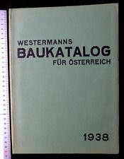 Westermanns Baukatalog Bau Hochbau Tiefbau Österreich Handwerk