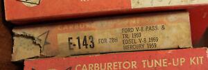 Pacco Carburetor Tune Up Kit E-143 Ford V8 1959 Edsel Mercury  (466*)