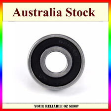 6201RS 12mm x 32mm x 10mm Rubber Shielded Deep Groove Ball Bearing