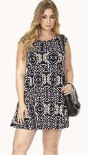 Polyester Formal Plus Size Geometric Dresses for Women