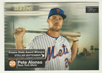 2020 Topps Series 2 EMPIRE STATE AWARD WINNERS ESAW-28 PETE ALONSO New York Mets