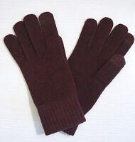 NWT UGG Women's Tech Knit Gloves, Port, One Size, Touchscreen Technology