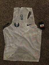 Nike Pro Elite Aeroswift Oregon Project NWT Singlet Gyakusou Large RARE White