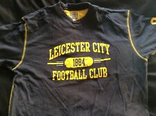 LEICESTER CITY T-SHIRT LARGE