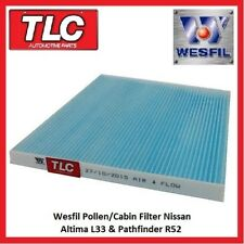 Wesfil Cabin Pollen Filter Nissan Altima L33 11/13 - on Pathfinder R52 10/13-on