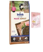 15kg Bosch Adult Maxi + Lolo Hundekekse Hundefutter