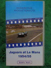 Jaguars at Le Mans 1954/55. VHS. Running Time 60 mins. Random Film Productions.