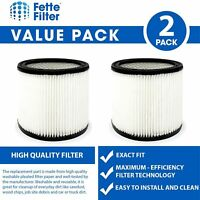 2 Replacement Filters Compatible with Shop-Vac 90350 90304 90333