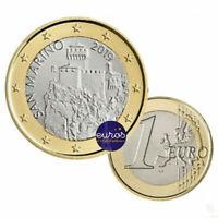 Pièce 1 euro SAINT MARIN 2019 - La Deuxième Tour, La Cesta - UNC