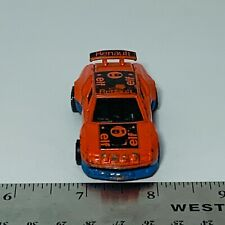 Vintage 1978 Tomica Alpine Renault Elf Diecast sport car Orange Black Blue A310