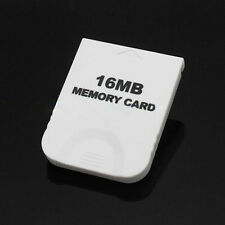 16mb Console White Video Game Memory Card GameCube for for Nintendo Wii