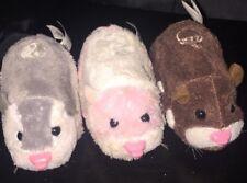 zhu zhu pets, Lot Of 3 Hamsters