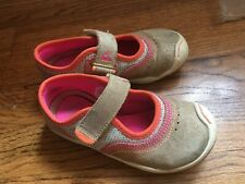 Plae Emme Silver Gold Pink Shoes Size 9 Us 25 Eu