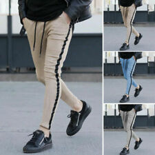 Pantaloni da uomo senza marca slim